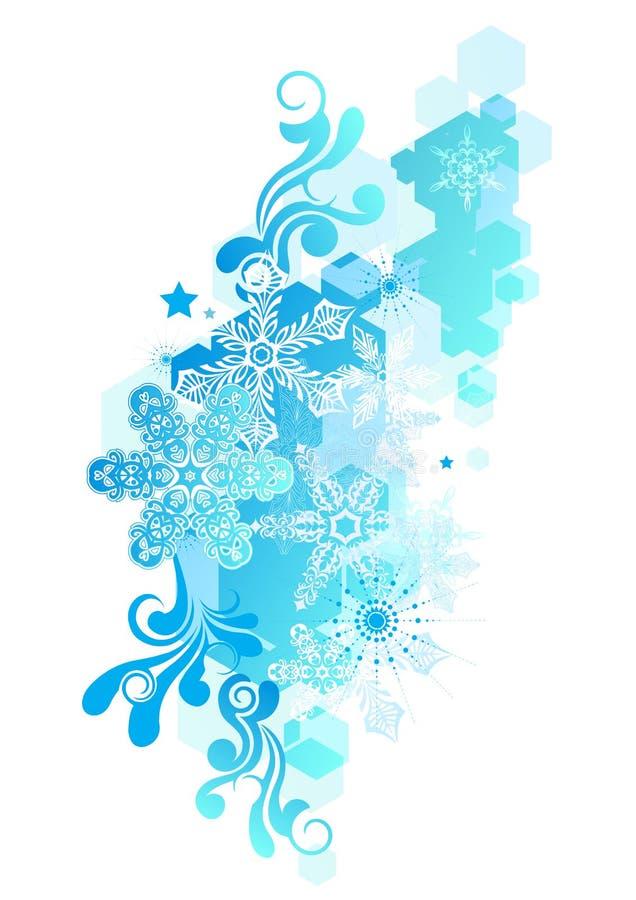 Extracto maravilloso del invierno ilustración del vector