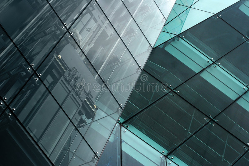 Extracto moderno del edificio imagenes de archivo
