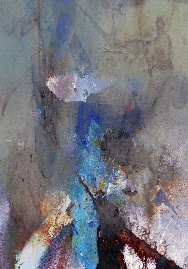 Extracto pintado del moho del acento foto de archivo libre de regalías