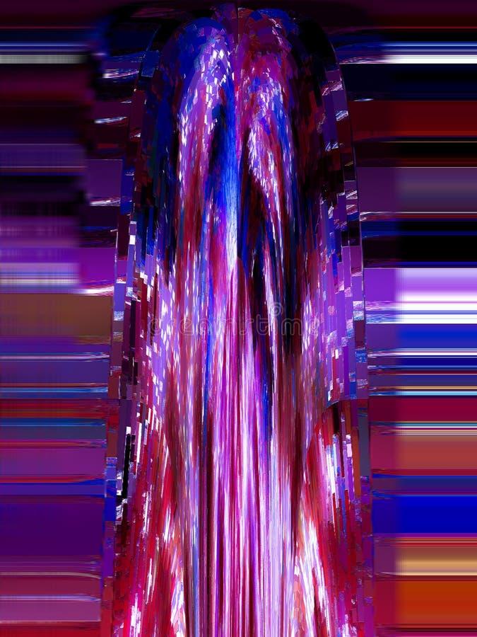 Extracto Pintura cuadro Textura textured unicidad ilustración del vector