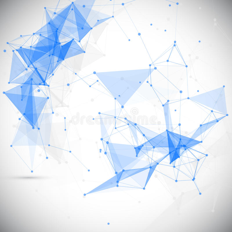 Extracto, polivinílico bajo, molécula y comunicación ilustración del vector