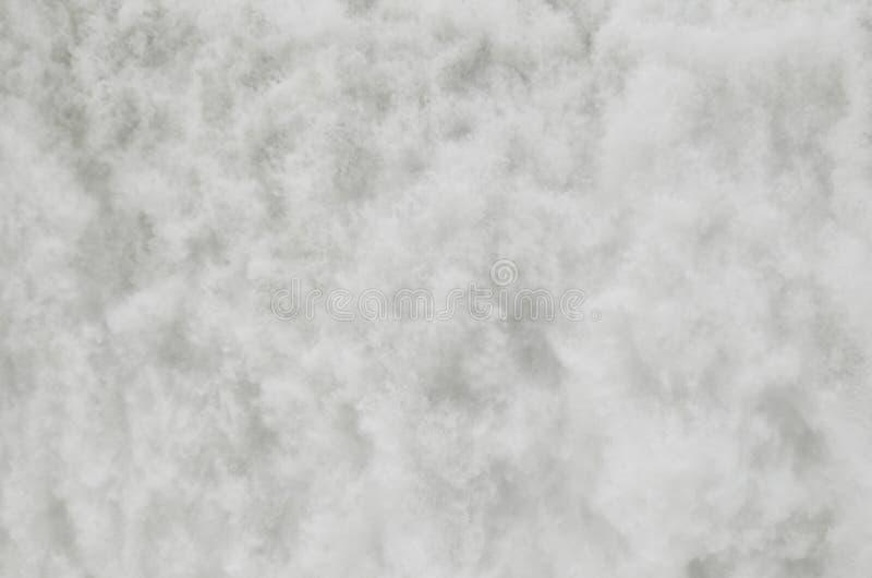 Extracto - primer de la corriente de la cascada fotografía de archivo