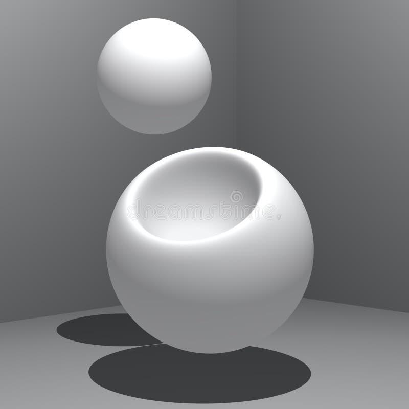 Extracto - producción ilustración del vector