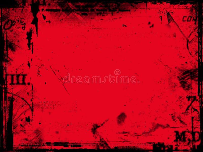 Extracto rojo ilustración del vector