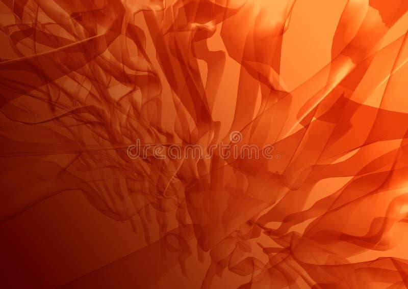 Extracto rojo de la alga marina stock de ilustración