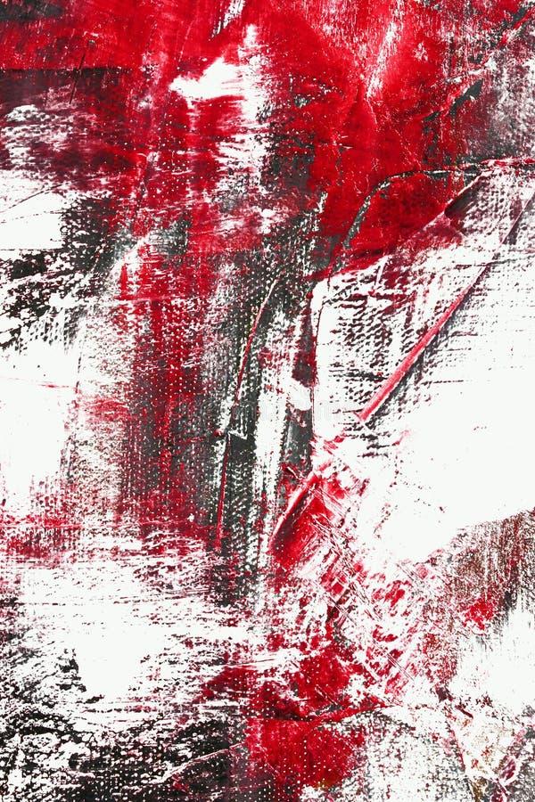 Extracto rojo y negro del color stock de ilustración
