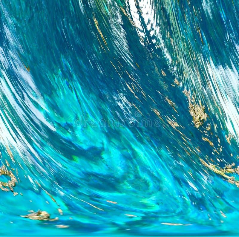Extracto tempestuoso del agua fotos de archivo