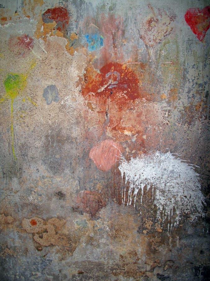Extracto urbano de la pared imagen de archivo