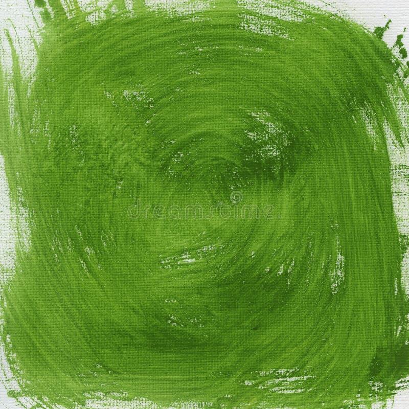 Extracto verde del vórtice fotos de archivo