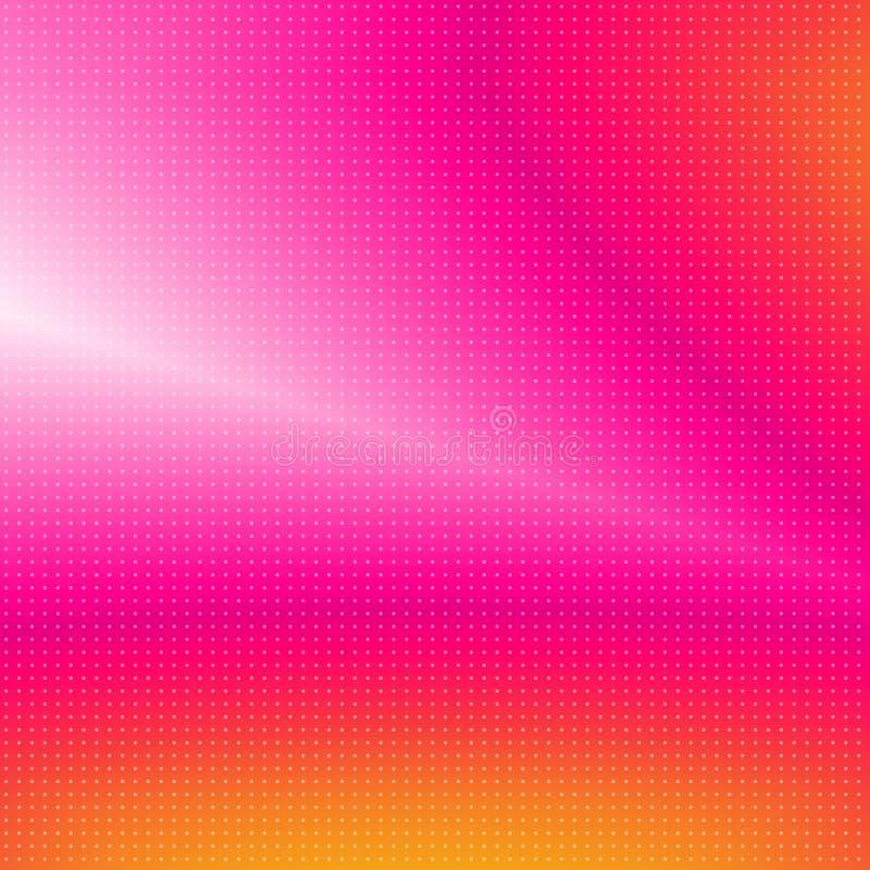 Extracto vibrante ilustración del vector