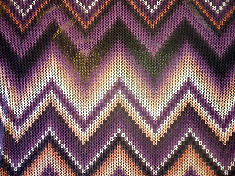 Extracto violeta de la tela imagen de archivo