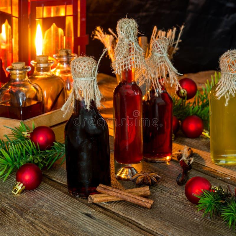 Extractos de la Navidad para cocer imagenes de archivo