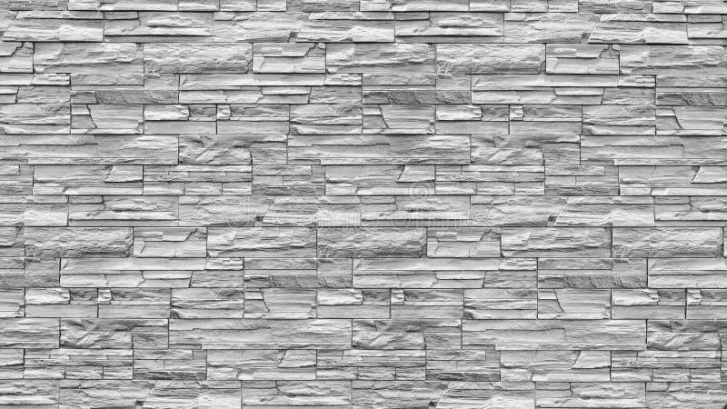 Extrahieren Sie den verwitterten Beschaffenheit befleckten alten hellgrauen Stuck und alterte weißen Backsteinmauerhintergrund de lizenzfreie stockfotografie
