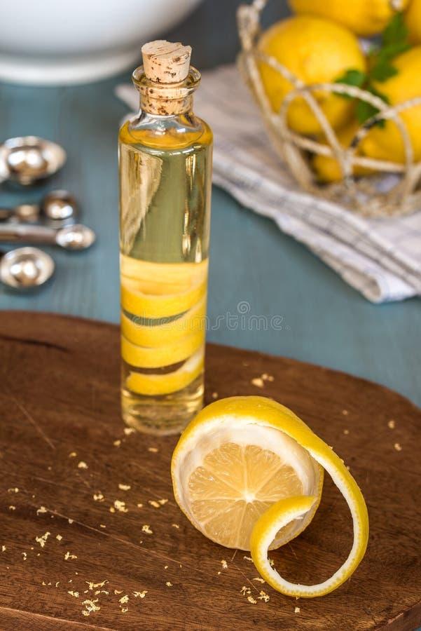 Extrait de citron photographie stock
