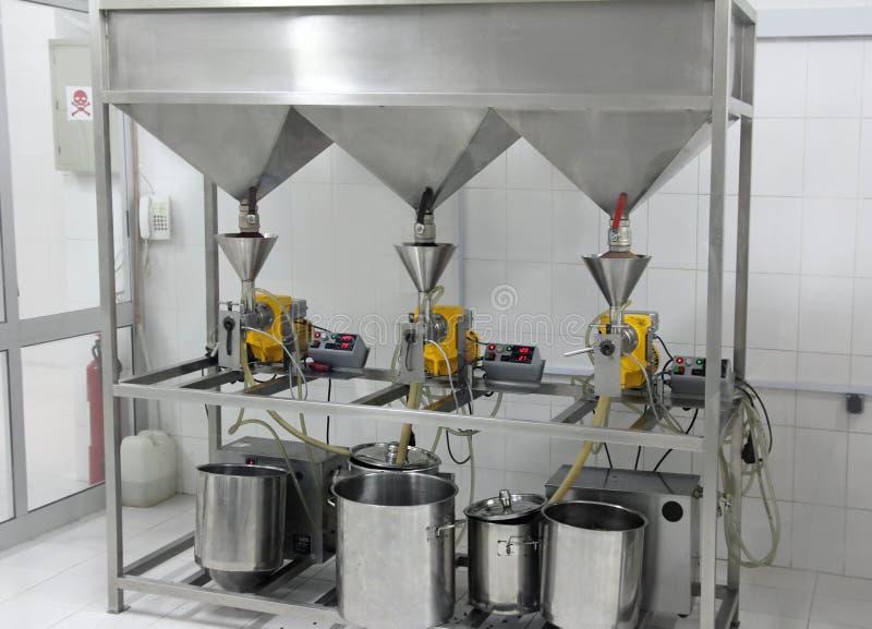 extraktionfabriksoljor royaltyfri foto