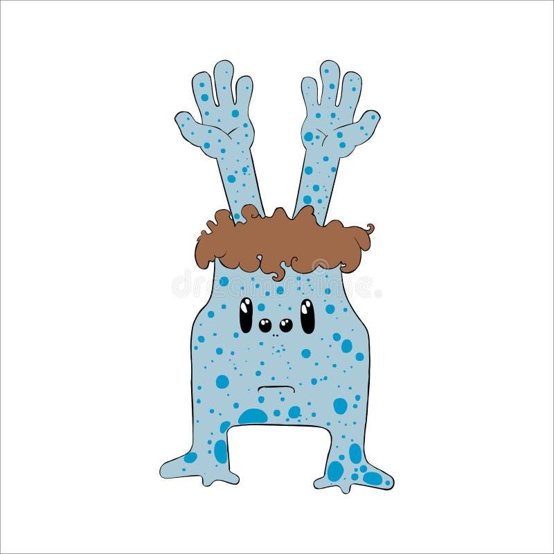 Extranjero azul foto de archivo libre de regalías