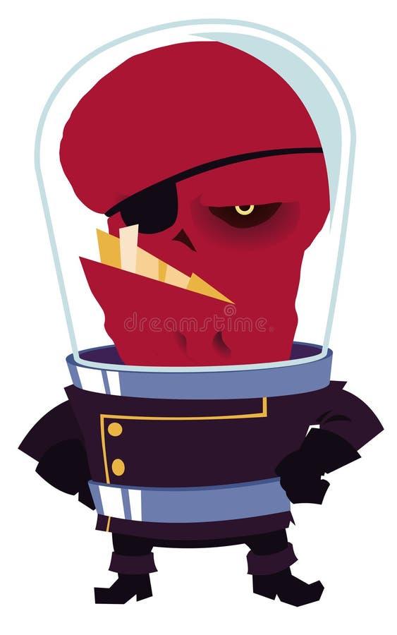 Extranjero rojo libre illustration