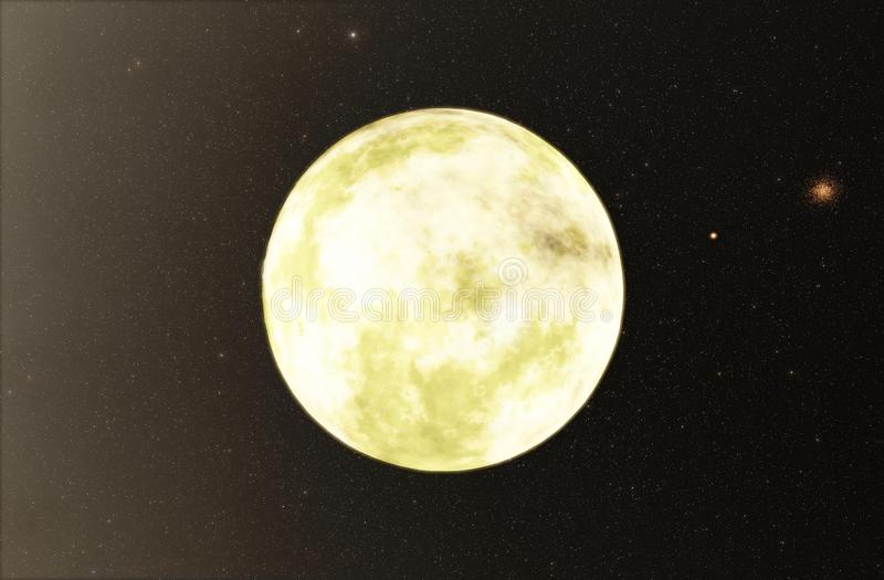 Extrasolar planeta ilustracja wektor