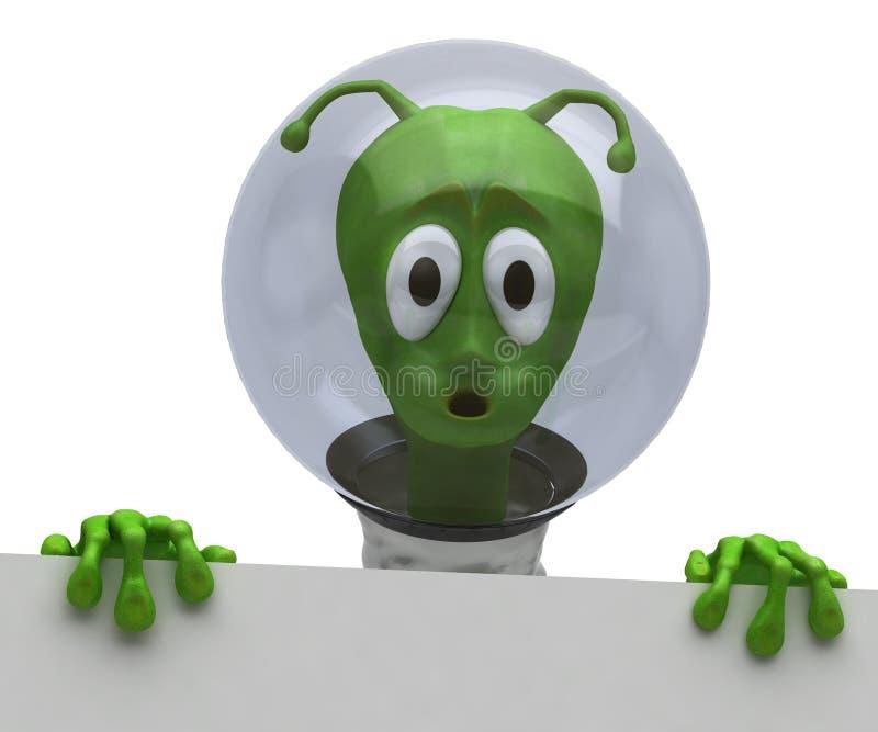 Extraterrestrial ilustração stock
