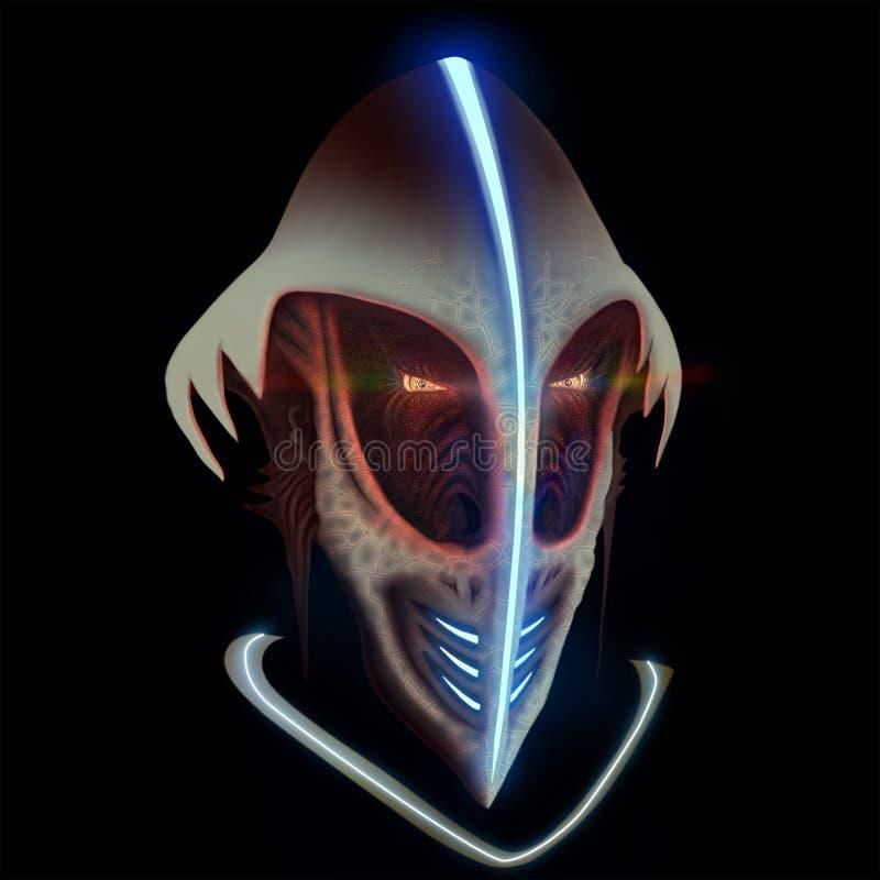 extraterrestrial vektor abbildung