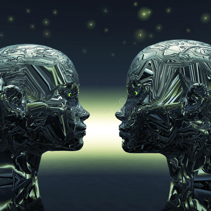 Extraterrestrial zwei vektor abbildung