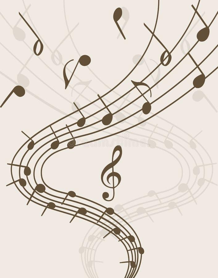 Extravagancia de la música libre illustration