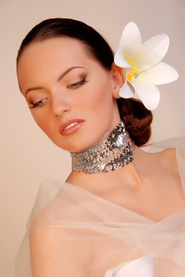 Download Extravagant bride stock photo. Image of color, eyelashes - 3623480