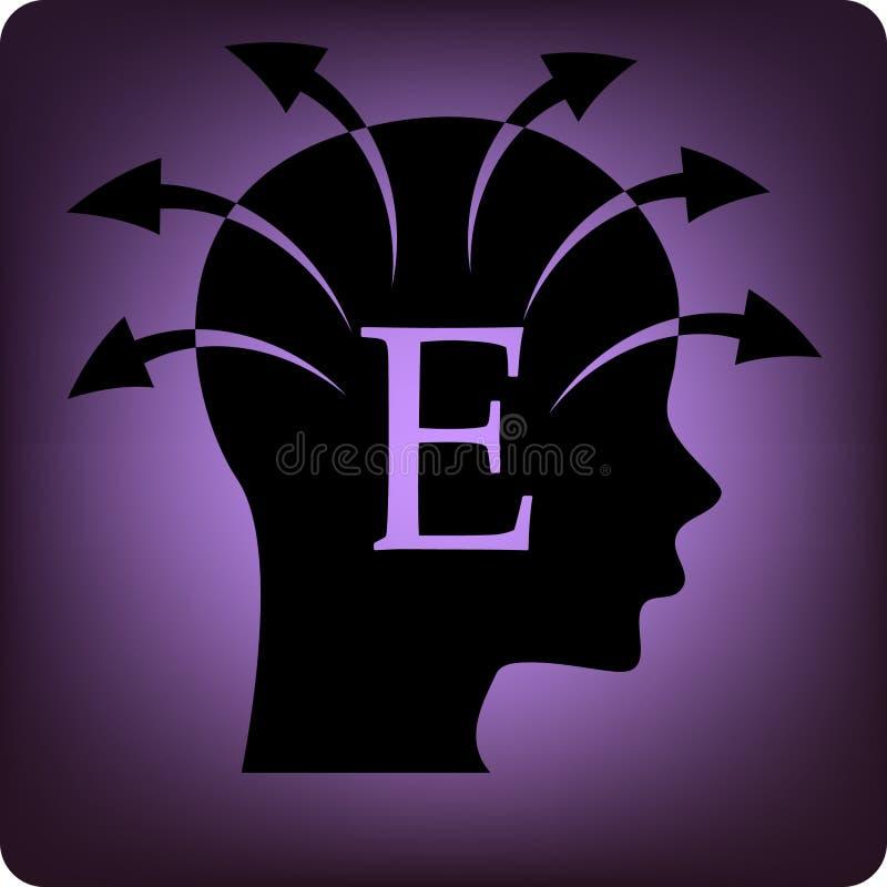 Extravert vector illustratie