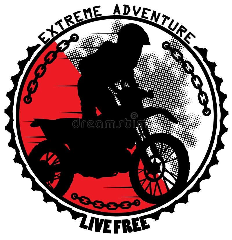 Extreem avontuur stock illustratie