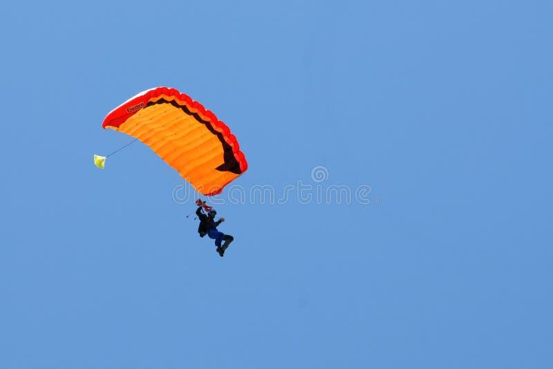 Extreem Sport. Fallschirmspringen lizenzfreie stockbilder