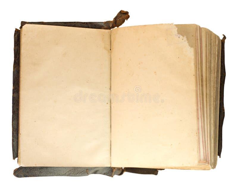 Extrem altes Notizbuch lizenzfreies stockbild