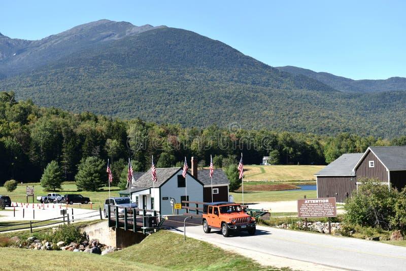 Extrem New Hampshire Staats-USA Washington Gebirgs stockbilder