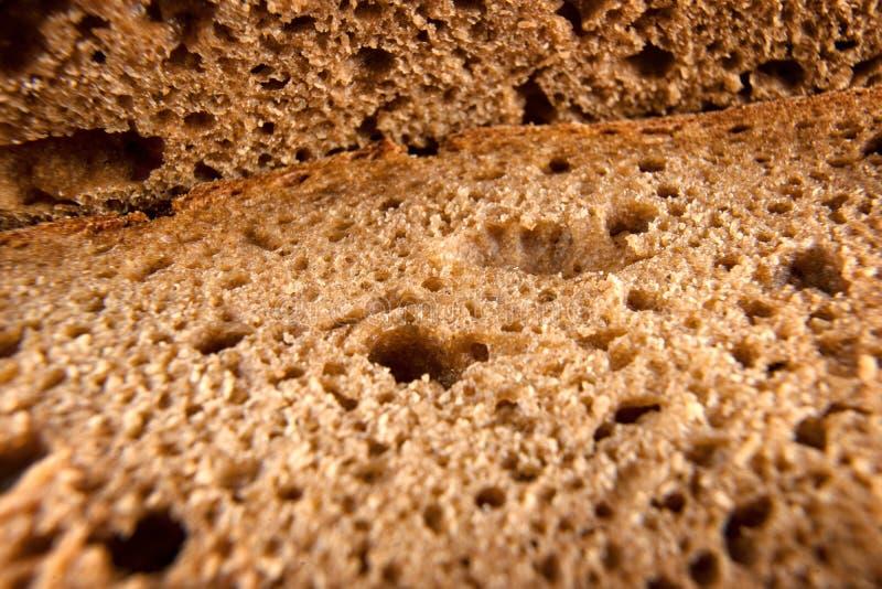 Extremabschluß des frischen Brotes oben stockfotos