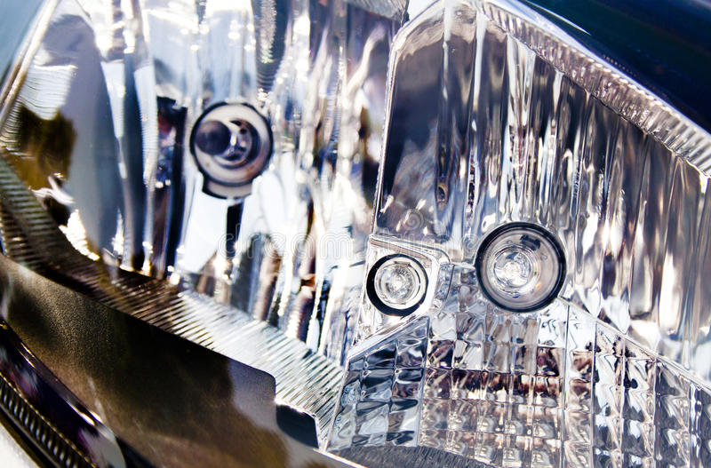 Download Extreme Abstract Closeup Of Vehicle Headlamp Stock Photo - Image: 33698024