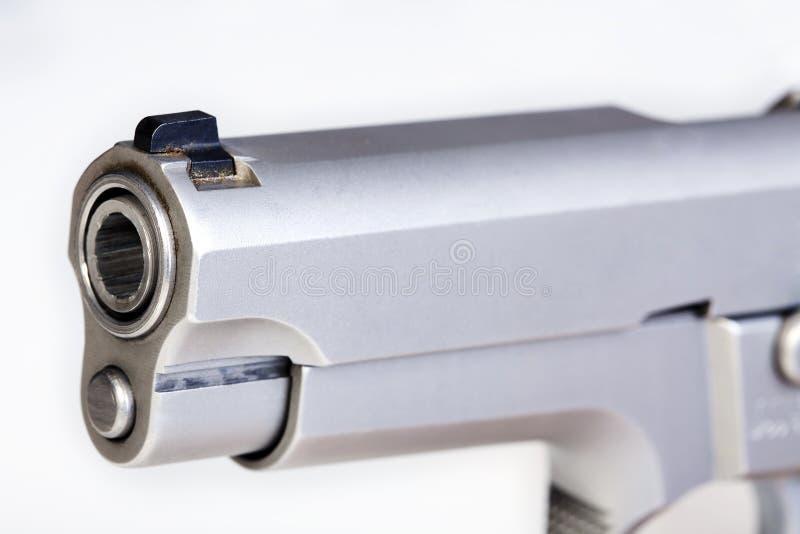 Barrel Of A Gun Stock Image