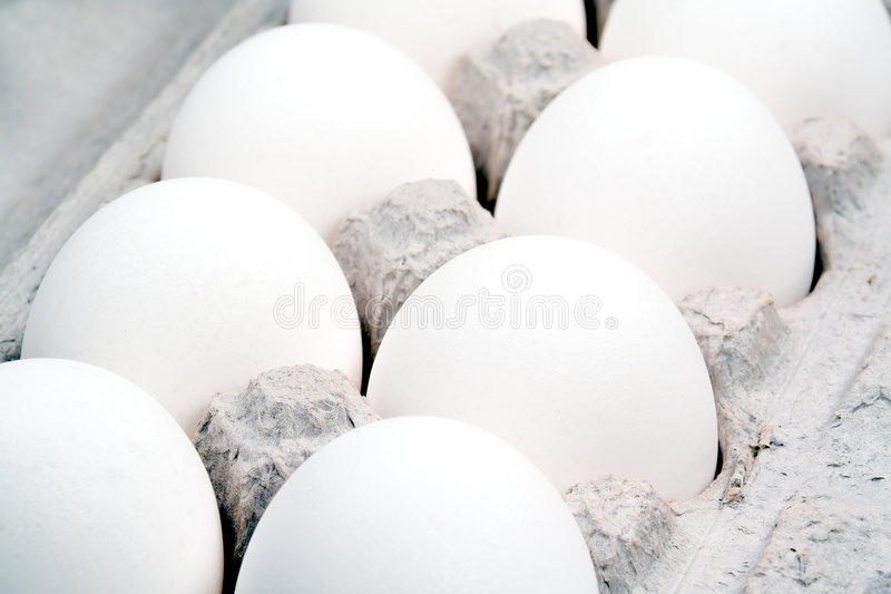 Download Extreme Closeup Of A Dozen Eggs Stock Image - Image: 201285