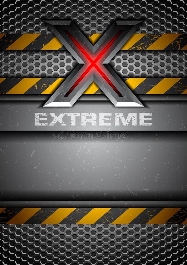 Extreme stock illustration
