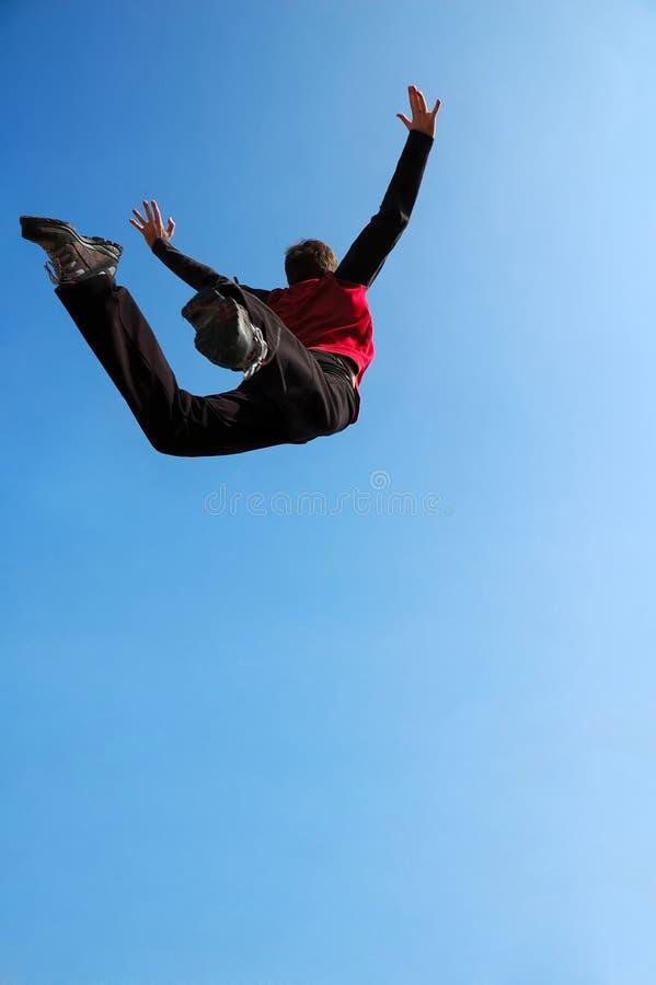 Free Extreme Jump Royalty Free Stock Photos - 2205298