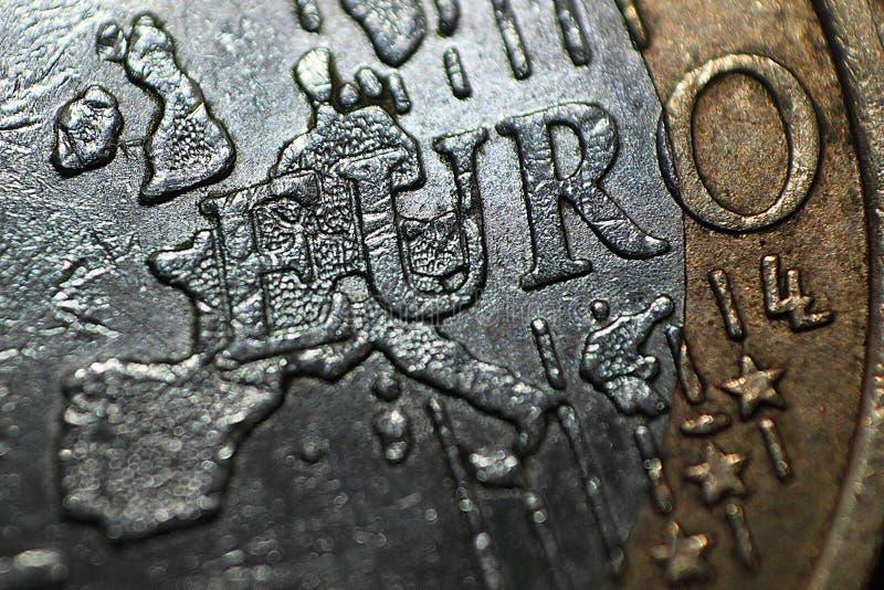Download Extreme macro euro stock photo. Image of european, exchange - 23904002