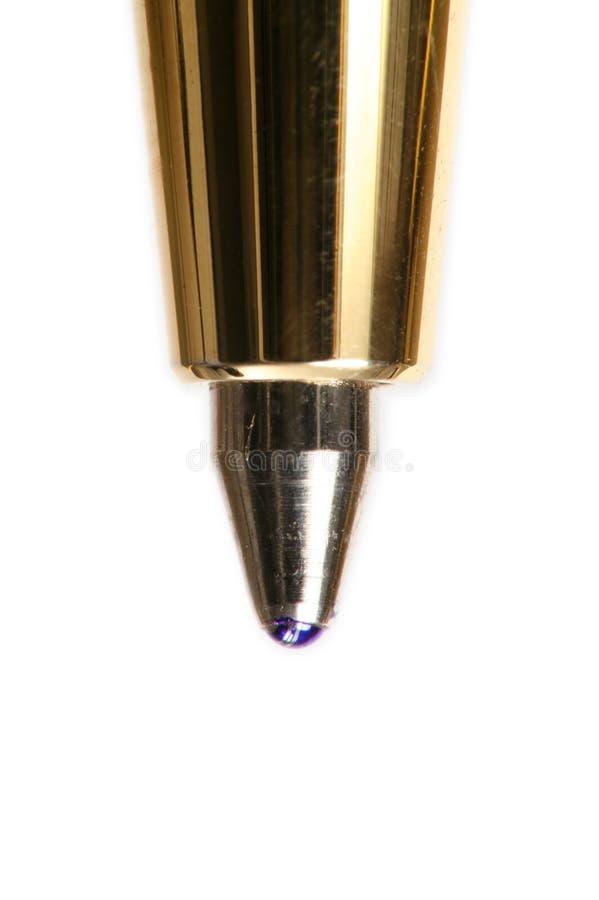 Extreme macro of pen stock photo