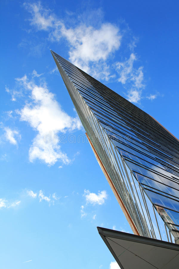 Extreme modern architecture royalty free stock photography