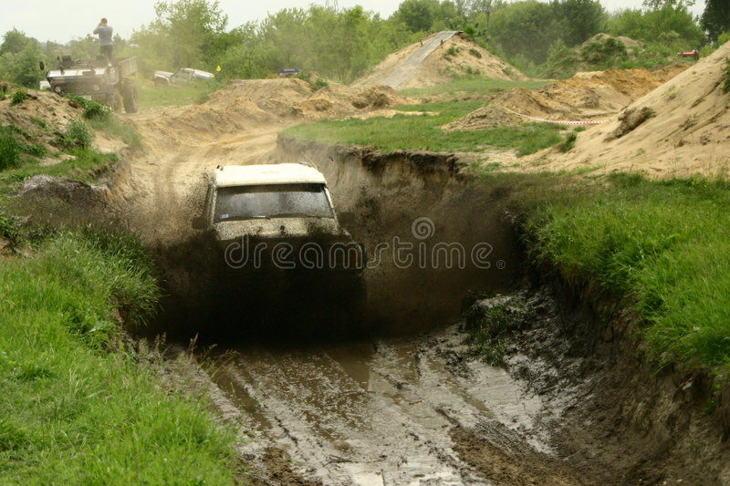extreme off road stock photo
