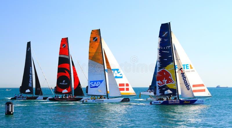 Extreme Sailing Series Editorial Image