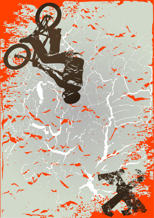 Download Extreme sports stock vector. Illustration of grungy, dirt - 3959496