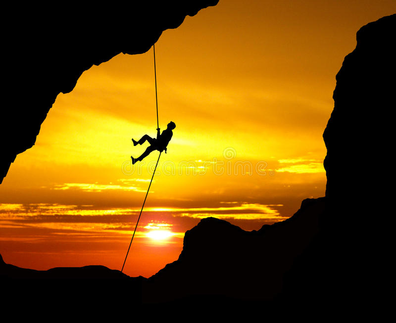 Extreme sports anywhere stock photography