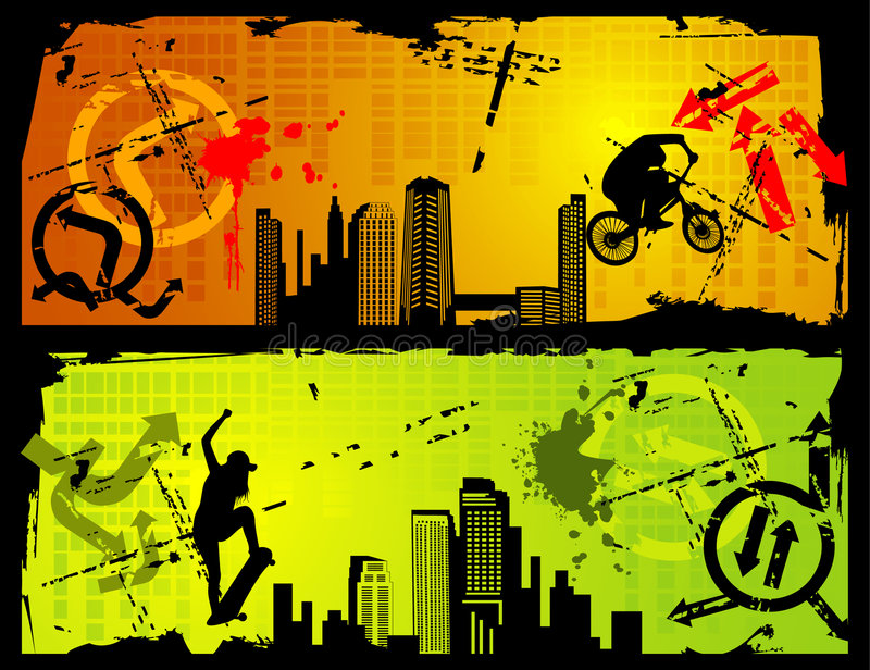 Extreme sports vector stock photos