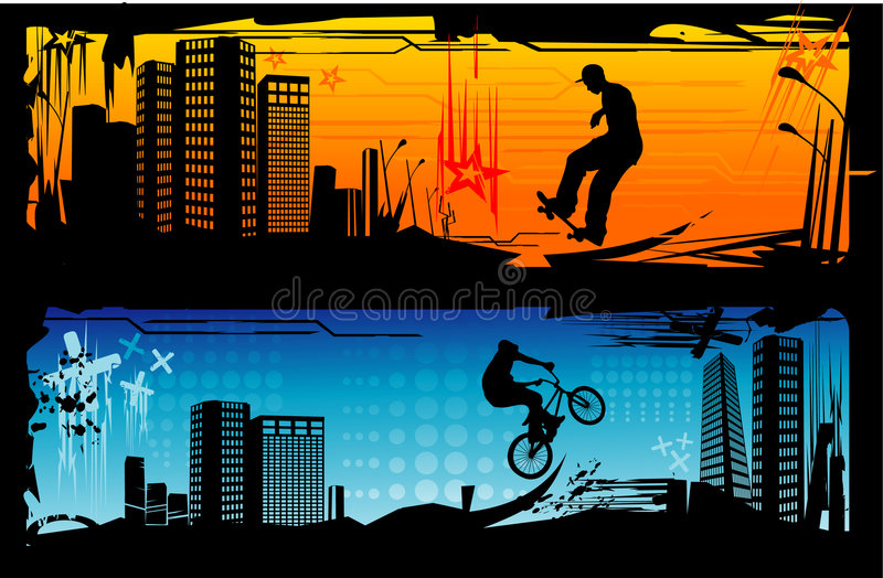 Download Extreme sports vector stock vector. Illustration of urban - 6291277