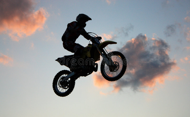 Extreme sportsmen stock photography