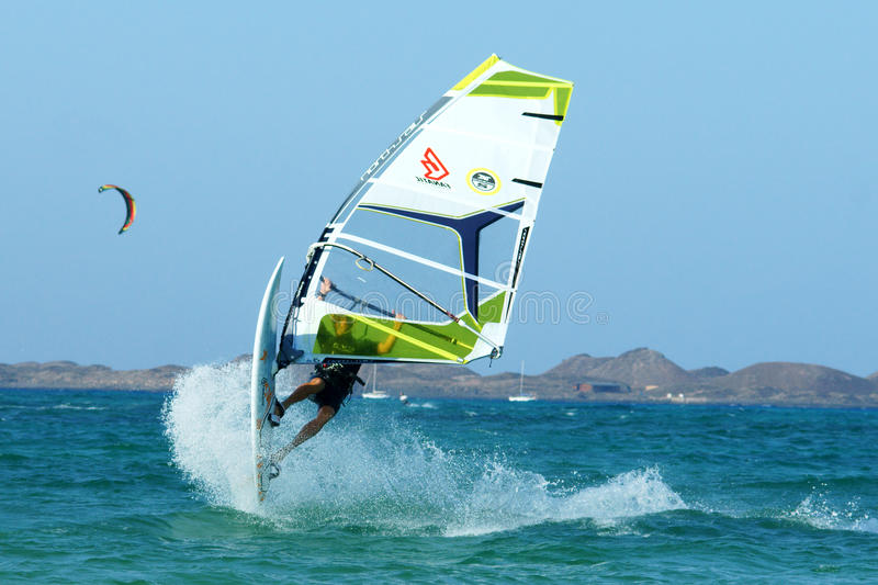 Download Extreme windsurfing editorial image. Image of board, vacation - 15854320