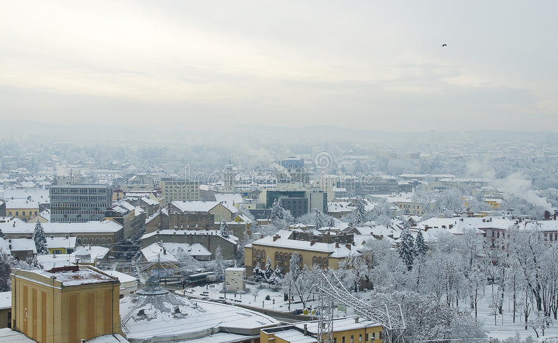 Download Extreme winter in Europe editorial photography. Image of city - 23265512